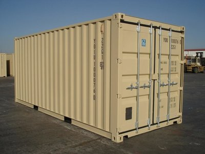 opslag ruimte in 20ft Container